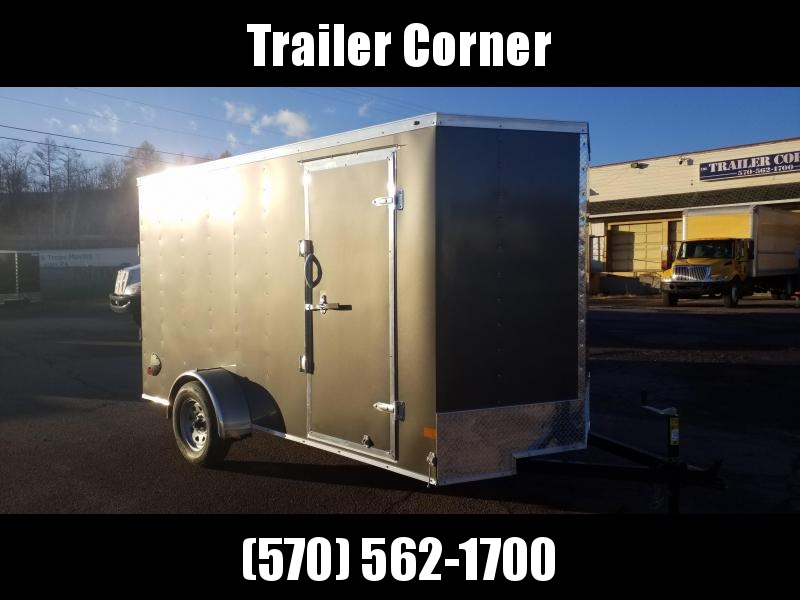 2021 Wells Cargo FT 6X12 EXTRA HEIGHT - RAMP - RINGS Enclosed Cargo Trailer