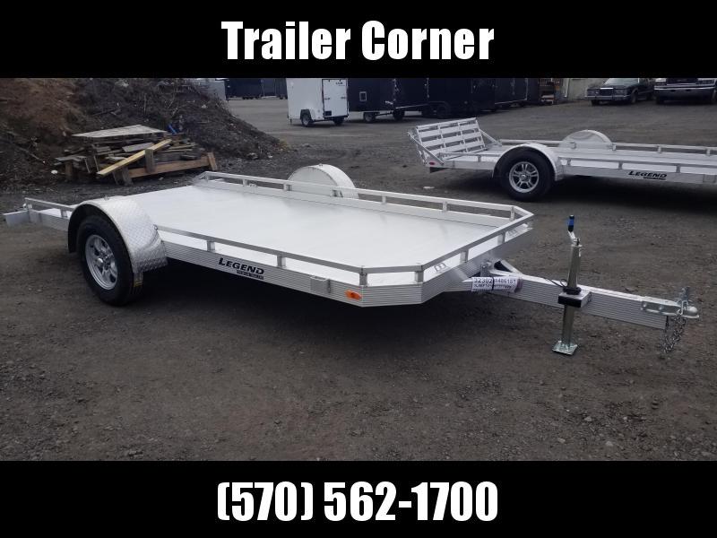 2021 Legend Trailers 7X14 ALUMINUM TILT Utility Trailer