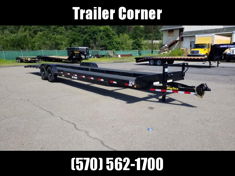 2019 Big Tex Trailers 14ET -34 USED 2 PLACE CAR HAULER Car / Racing Trailer
