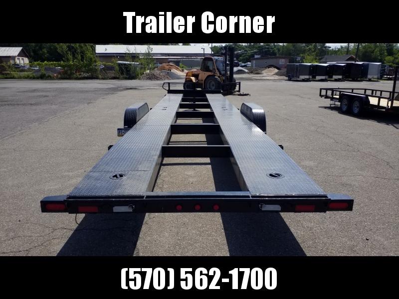 2019 Big Tex Trailers 14ET -34 USED 2 PLACE CAR HAULER Car / Racing Trailer