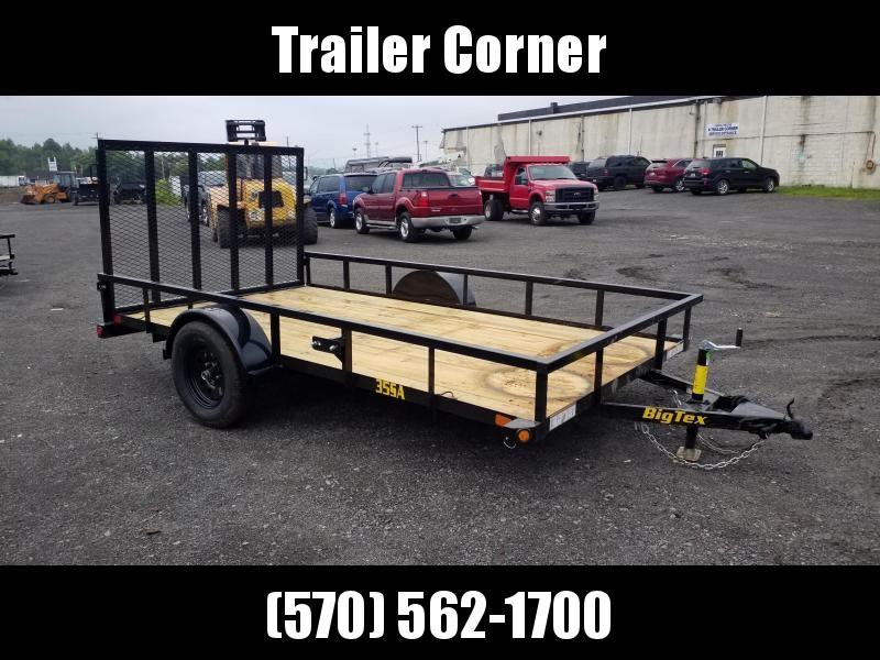 2022 Big Tex Trailers 35SA 77X12 - TUBE TOP Utility Trailer