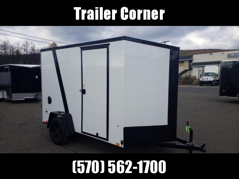 2022 Look Trailers STLC 6X10 - EXTRA HEIGHT - BLACKED OUT Enclosed Cargo Trailer