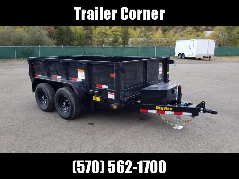 2021 Big Tex Trailers 90SR 6X10 10K - RAMPS Dump Trailer