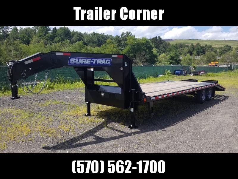 2020 Sure-Trac 15GN 20+5 Flatbed Trailer
