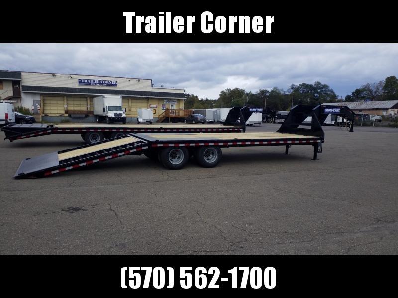 2021 Sure-Trac 20+10 22.5 GVWR - HYDRAULIC BEAVERTAIL Flatbed Trailer