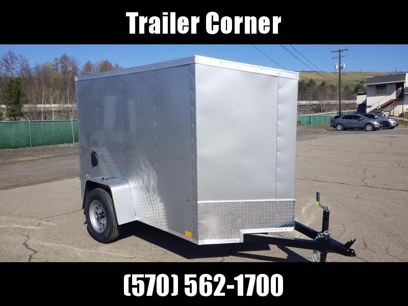 2022 Look Trailers STLC 5X8 BARN DOOR Enclosed Cargo Trailer