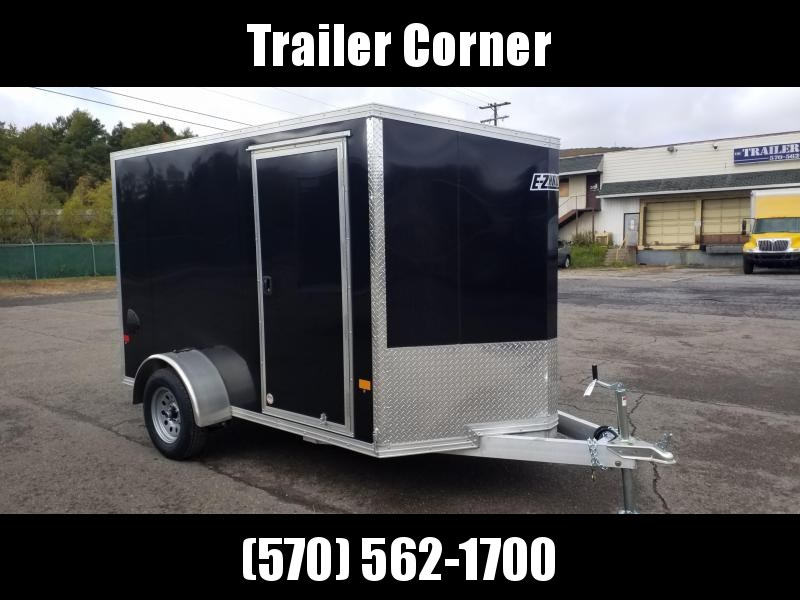 2021 Mission EZEC 6X10 ALUMINUM RAMP DOOR Enclosed Cargo Trailer