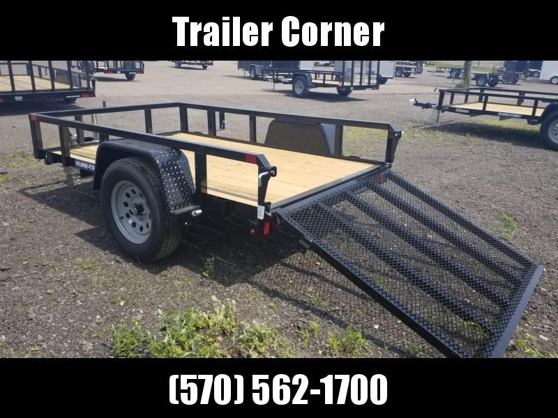 2021 Sure-Trac 5X8 - TUBE TOP Utility Trailer