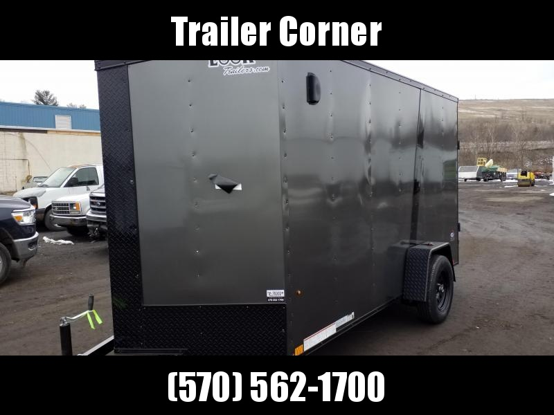 2022 Look Trailers STLC 6X12 - EXTRA HEIGHT - BLACKED OUT Enclosed Cargo Trailer