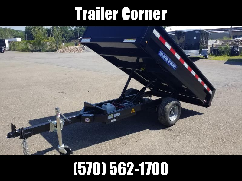 2021 Sure-Trac 4.5X8 HOME OWNER - RAMPS Dump Trailer