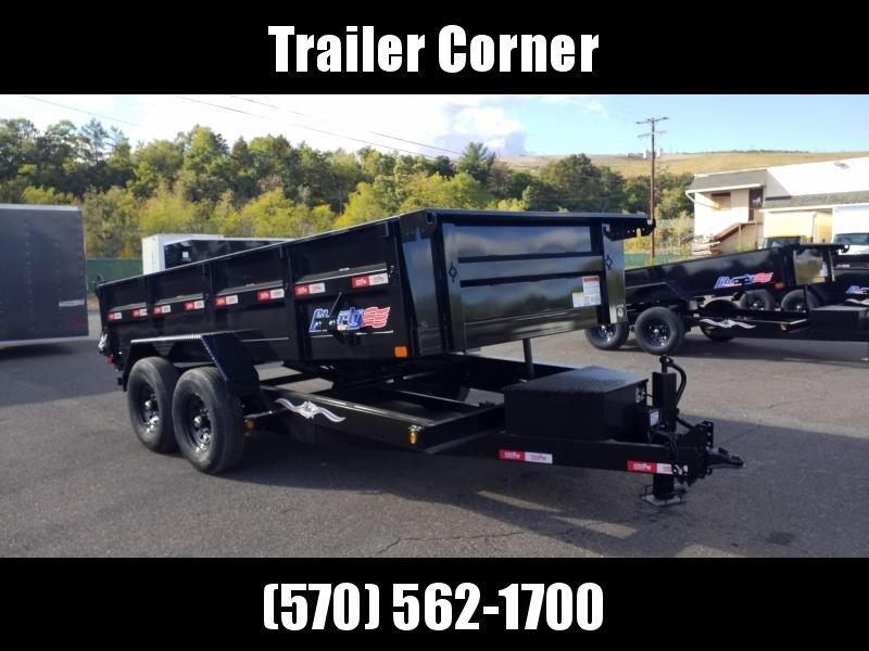 2021 Liberty 7X14 14K SCISSOR - RAMPS Dump Trailer