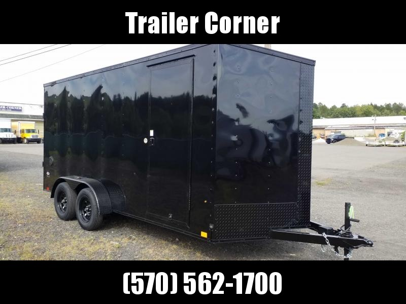 2021 Look Trailers STLC 7X16 - UTV HEIGHT - BLACKED OUT Enclosed Cargo Trailer