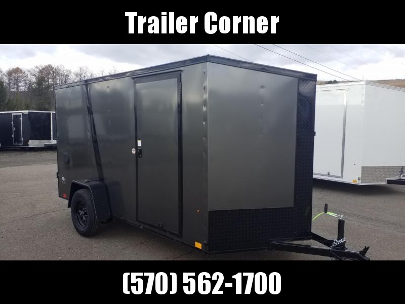2022 Look Trailers STLC 6X12 - RAMP - BLACKED OUT Enclosed Cargo Trailer