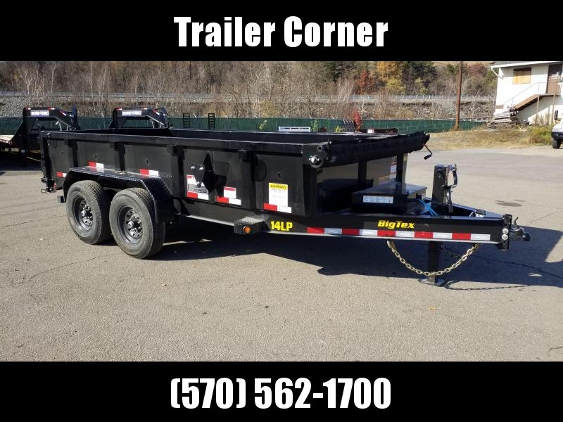 2021 Big Tex Trailers 14LP 7X14 14K - RAMPS - TARP Dump Trailer