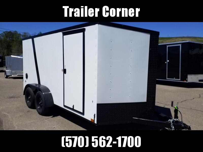 2022 Look Trailers STLC 7X14 - BLACKED OUT - RAMP DOOR Enclosed Cargo Trailer