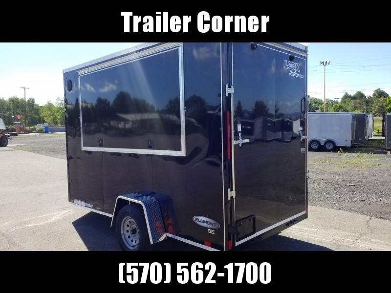 2021 Look Trailers EWLC 6X12 CUSTOM Enclosed Cargo Trailer