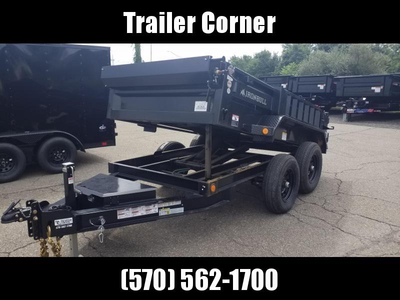 2022 Iron Bull 5X10 10K - SCISSOR - RAMPS - TARP KIT Dump Trailer