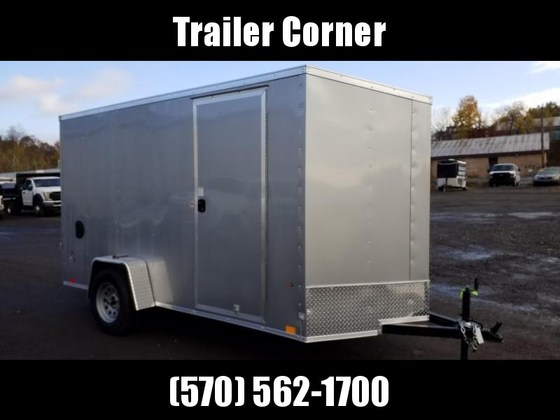 2021 Look Trailers STLC 6X12 - EXTRA HEIGHT - RAMP Enclosed Cargo Trailer