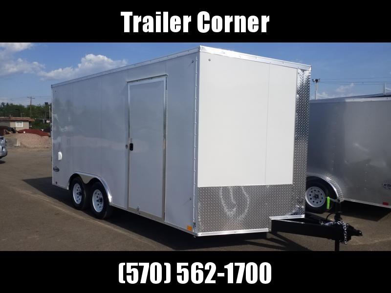 2022 Look Trailers EWLC 8.5X16 7K - EXTRA HEIGHT - RAMP DOOR Car / Racing Trailer