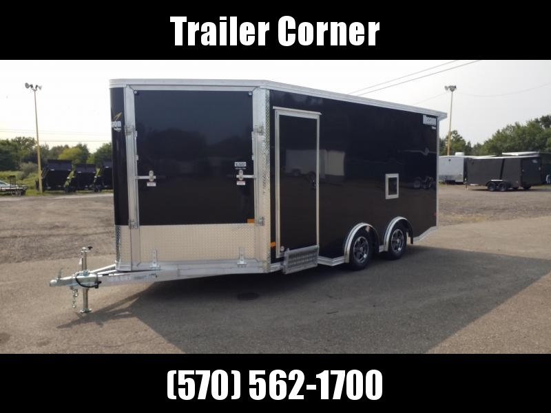 2021 Mission 8.5X16 ALUMINUM ALL SPORT Snowmobile Trailer