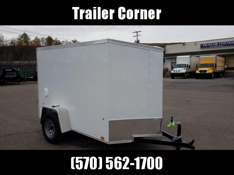 2022 Look Trailers STLC 5X8 - RAMP DOOR Enclosed Cargo Trailer