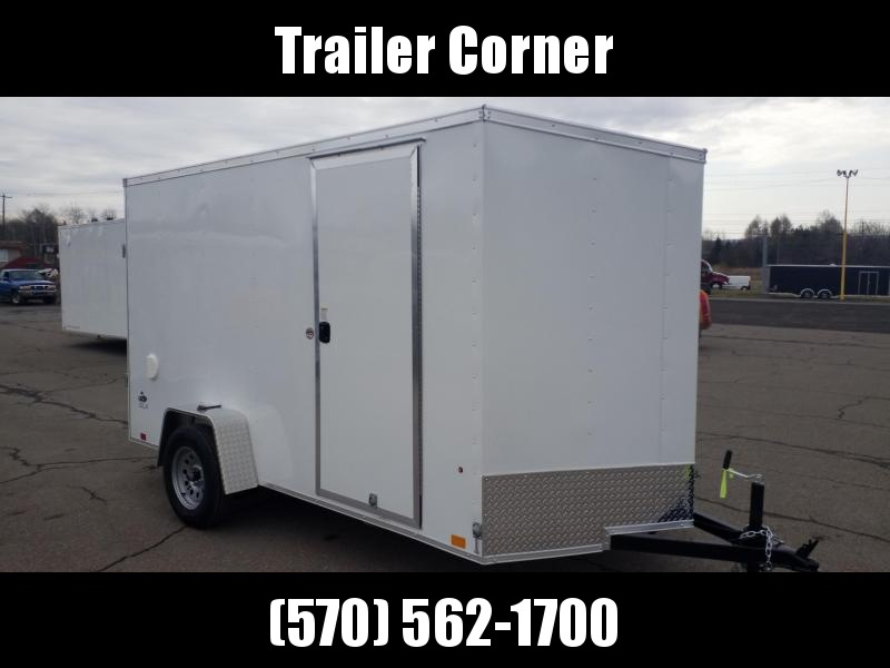 2022 Look Trailers STLC 6X12 - EXTRA HEIGHT - RAMP DOOR Enclosed Cargo Trailer