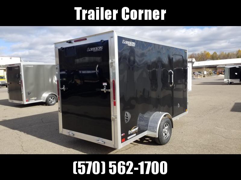 2021 Legend Trailers EXPLORER 6X12 ALUMINUM Enclosed Cargo Trailer