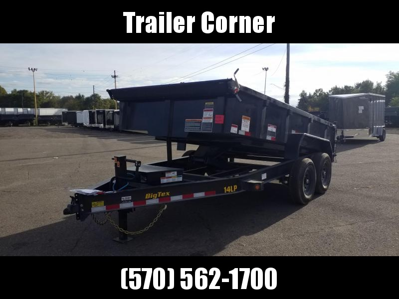 2022 Big Tex Trailers 7X14 14K - RAMPS - TARP KIT Dump Trailer
