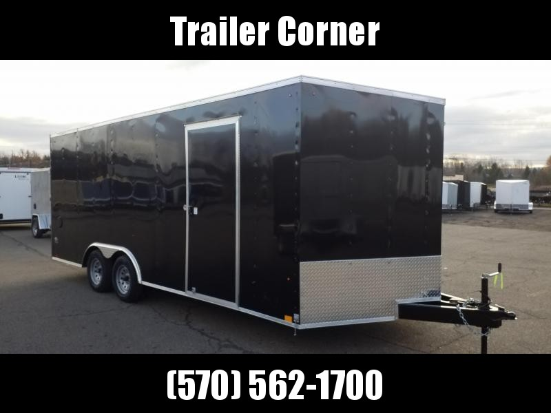 2022 Look Trailers ST 8.5X20 7K DLX - EXTRA HEIGHT Car / Racing Trailer
