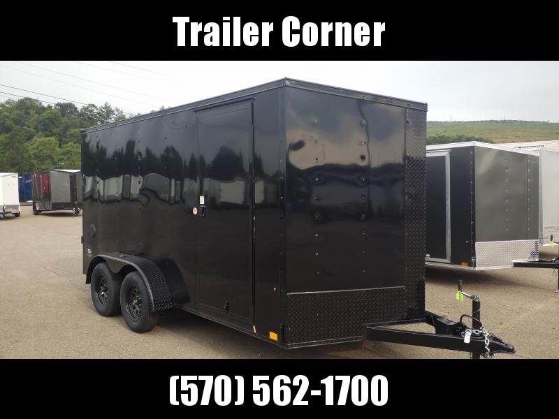 2022 Look Trailers STLC 7X14 - BLACKED OUT - EXTRA HEIGHT Enclosed Cargo Trailer