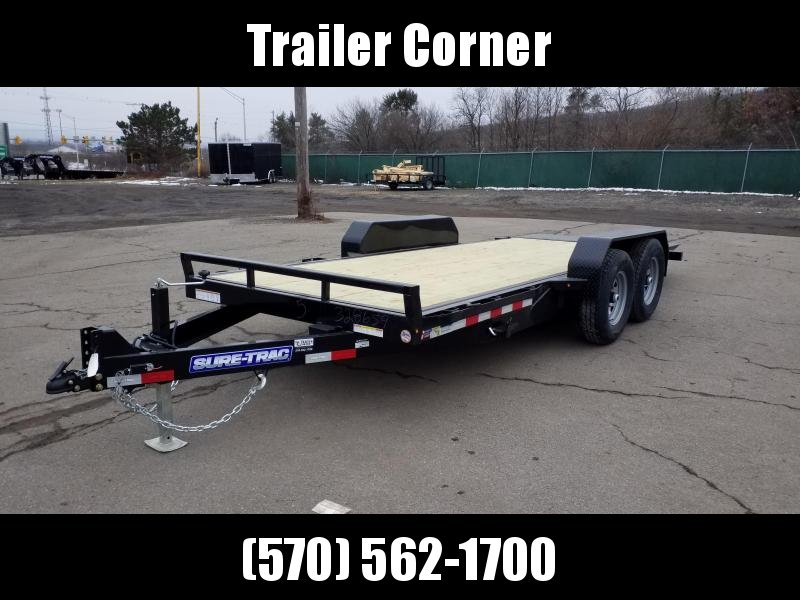 2021 Sure-Trac 7X18 14K TILT Equipment Trailer