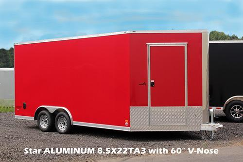 2020 Bravo Trailers SC8522TA3 Enclosed Cargo Trailer