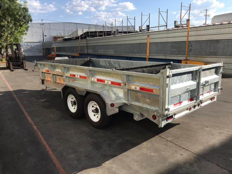 "2020 Silver Mountain Dump Trailer 83""x16' Equipment Trailer"