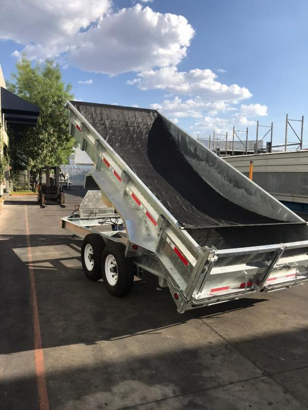"2020 Silver Mountain Dump Trailer 83""x16' Equipment Trailer"