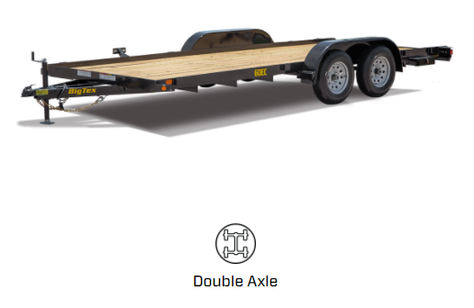 2020 Big Tex Trailers 60EC-16BK2B Car / Racing Trailer