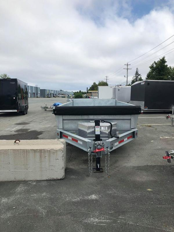 "2020 Silver Mountain Dump Trailer 83"" x 14'"