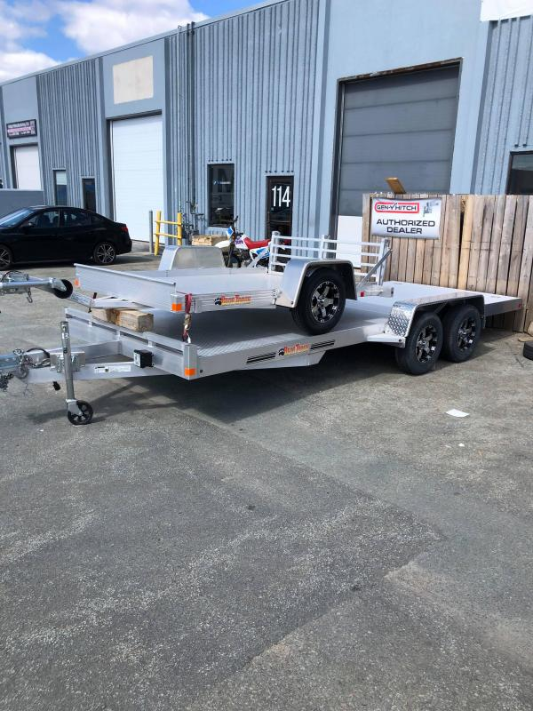 2019 Bear Track BTC81216S Car / Racing Trailer