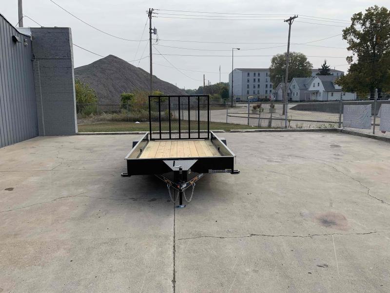 2021 Doolittle Trailer Mfg 84X14 Steel Side Utility Trailer