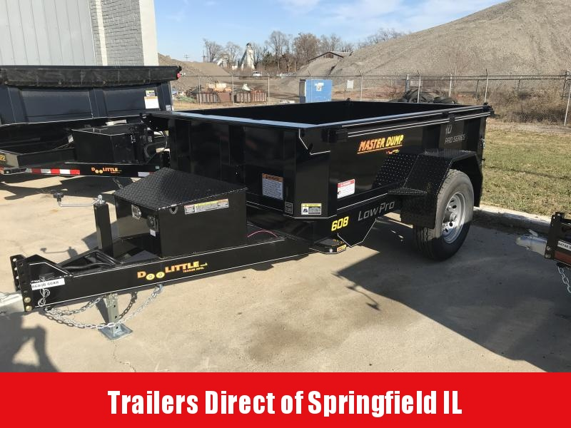 2020 Doolittle Trailer Mfg Master Dump 60x8 7K
