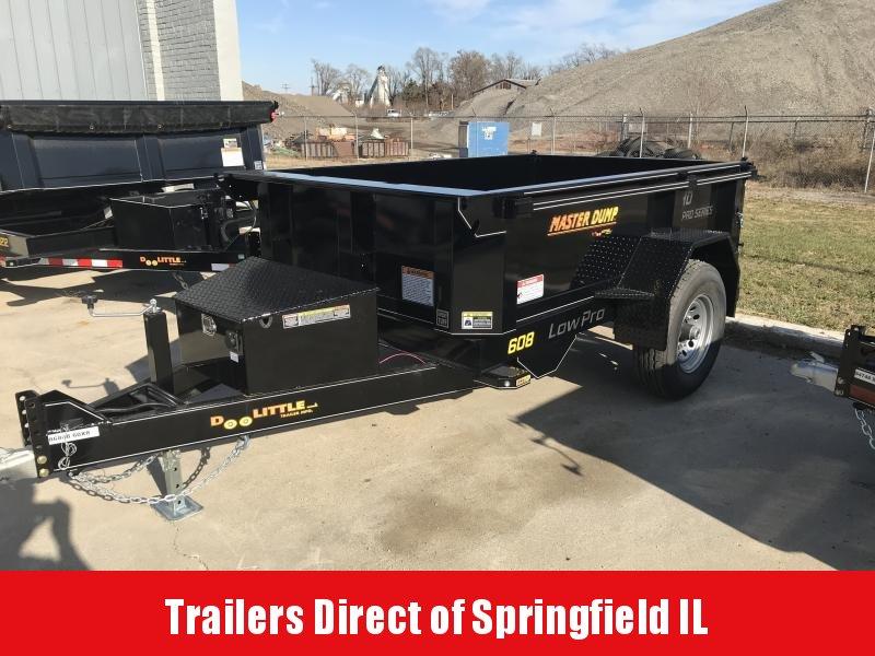2020 Doolittle Trailer Mfg Master Dump 60x8 7K