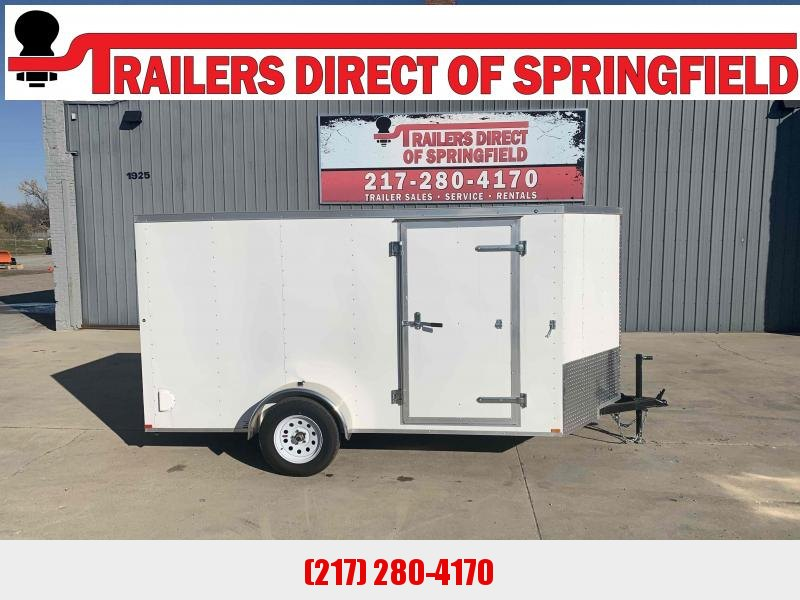 2020 Doolittle 6X12 RS Cargo 2990 GVWR Ramp Door