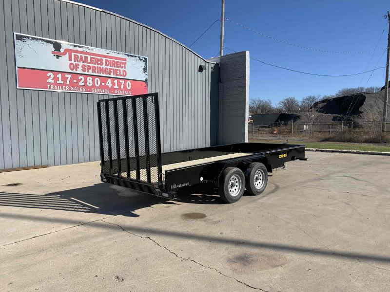 2021 Doolittle 77X16 Steel Side Utility Dare to Compare!