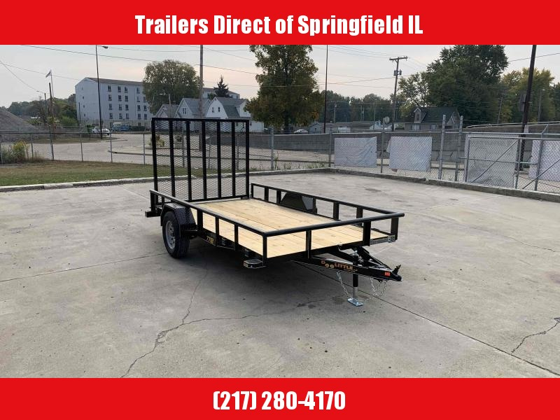 2021 Doolittle Trailer Mfg 77X12 Pipe Top Utility Trailer