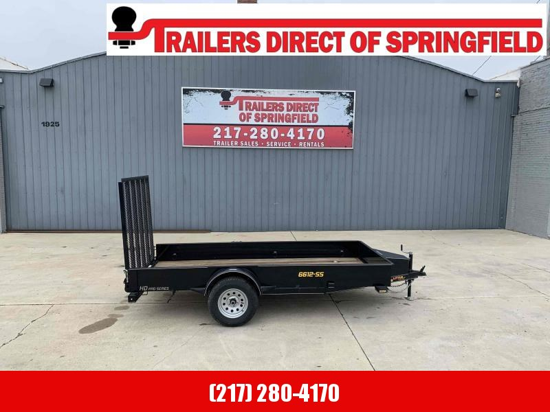 2021 66X12 Steel Side Utility Trailer Dare to Compare!