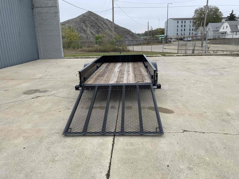 2021 66X12 Steel Side Utility Trailer Dare to Compare!