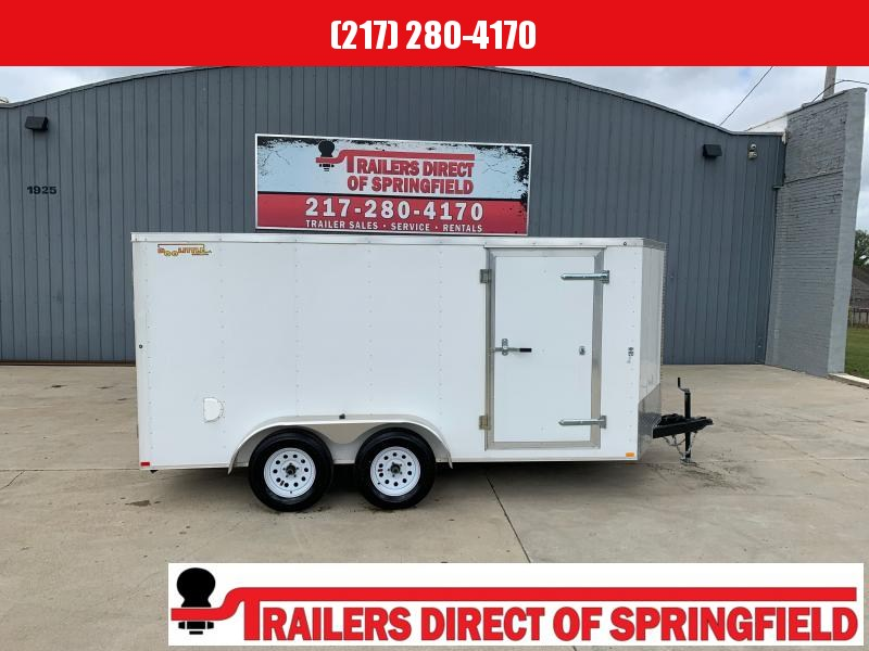 2020 Doolittle RS Cargo 7x14 7K w/ Ramp Door