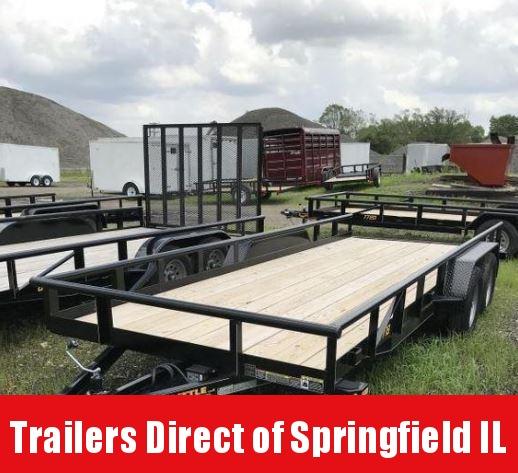 2019 Doolittle Trailer Mfg 77x18 T/A Utility Trailer