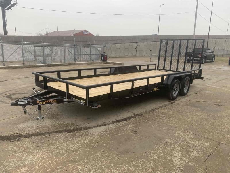 2021 Doolittle 84X20 PipeTop Utility Trailer 7000 GVWR 5' Mesh Gate w/ Spring Assist LED LIGHTS RADIAL Tires Double Electric Brakes