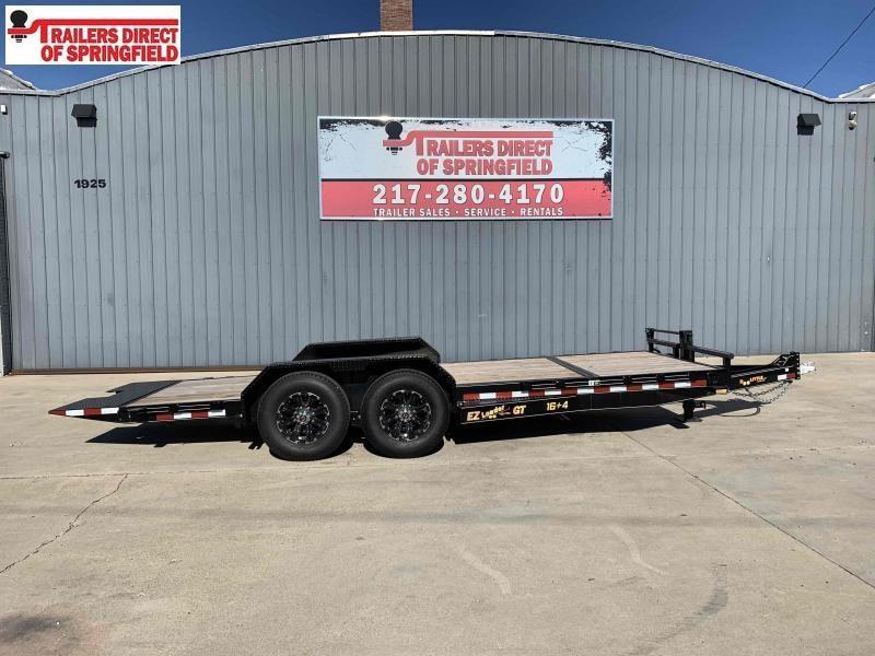 2020 Doolittle 82X20 EZ Loader GT Equipment Trailer 14K GVWR Drop Leg Jack Aluminum Wheel Upgrade Double Electric Brakes