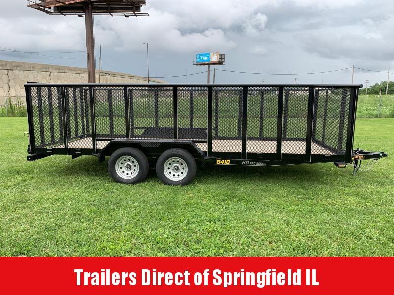 2020 Doolittle Trailer Mfg UtilitY  84x18  T/A
